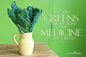 SR greens-medicine-hever