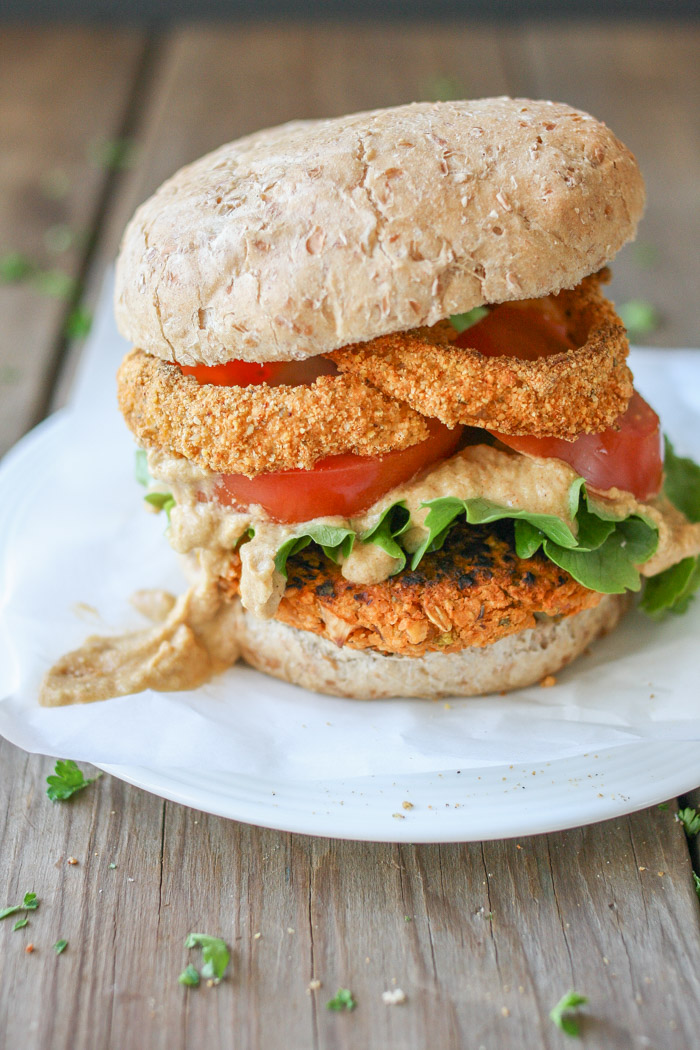 Healthy vegan comfort food 40 burgers burritos sandwiches and burgers buffalo chickpea forumfinder Images