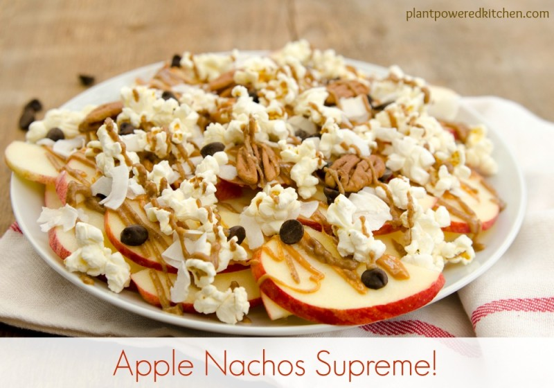 Dessert Apple Nachos