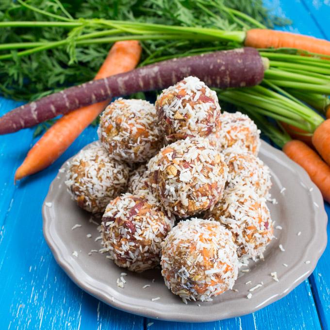 Dessert Carrot Bites
