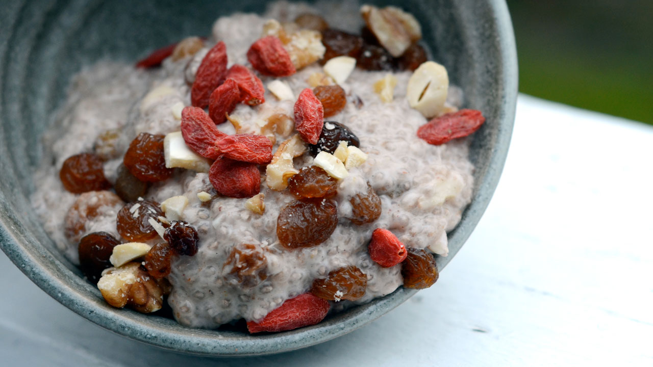Dessert Rouxbe Chia