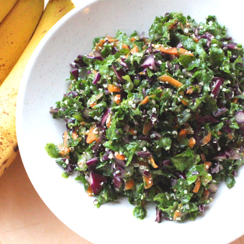 Salad Banana Kale