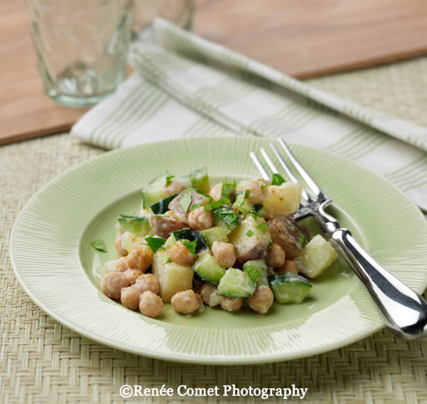 Salad Indian Chickpea