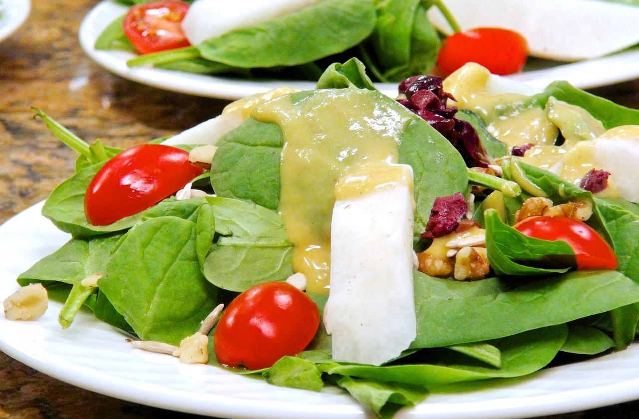 Salad Jicama Spinach