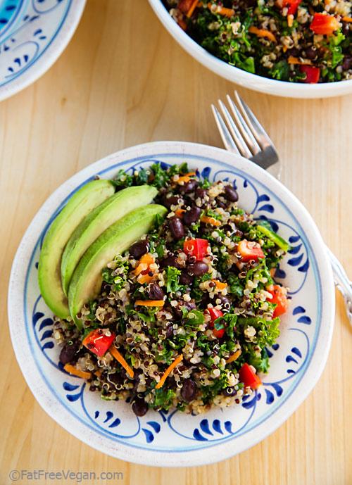Salad Kale Quinoa