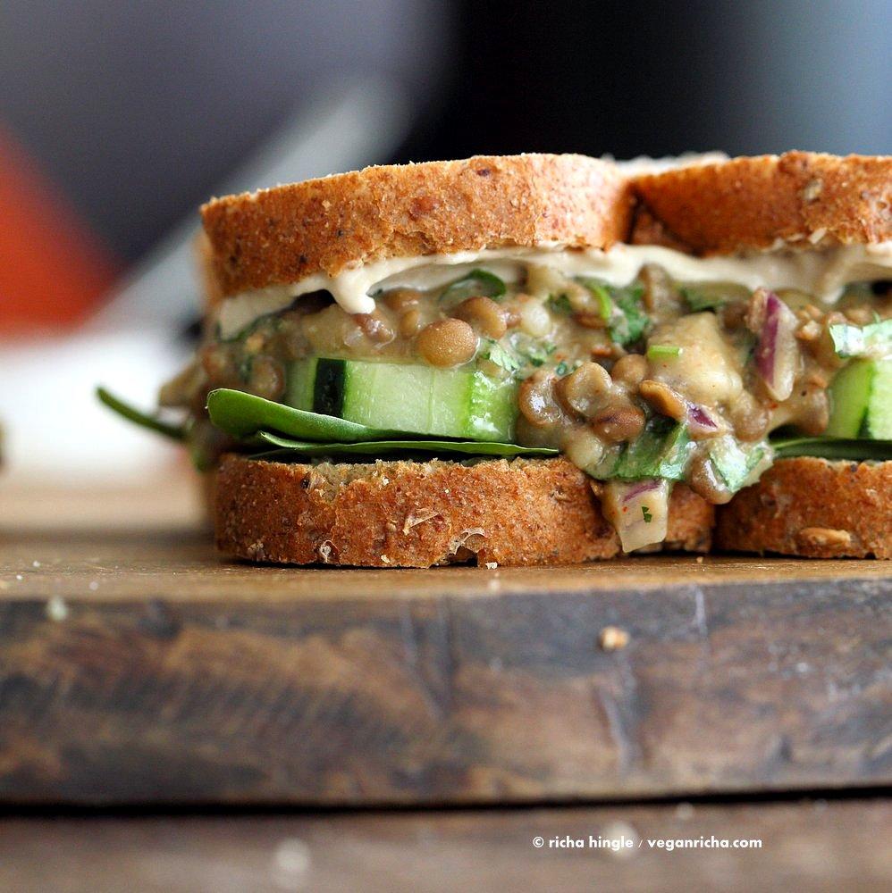 Salad Lentil Falafel