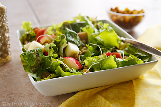 Salad Spicy Apple