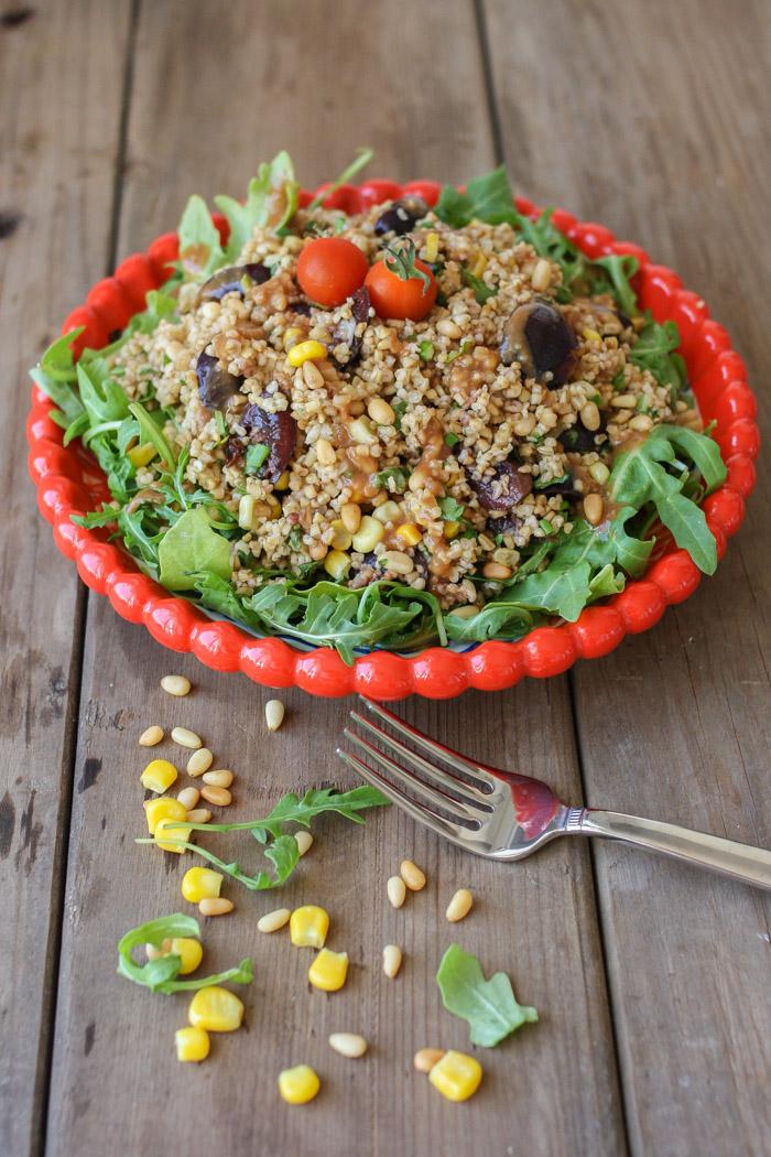 Salad Steelcut Summer