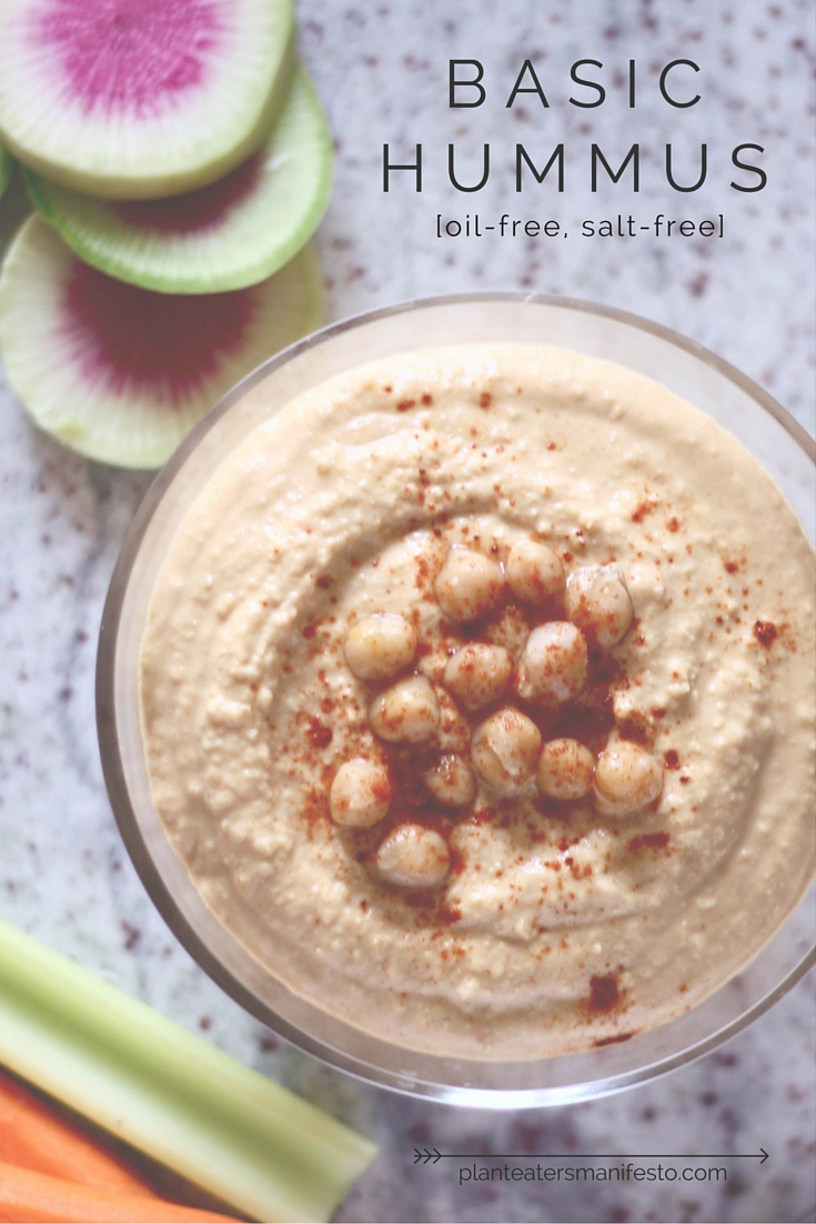 Snacks Basic Hummus