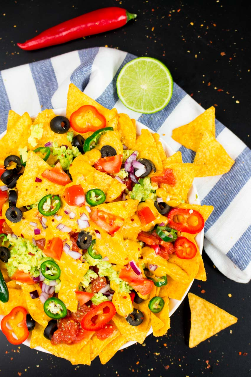 Snacks Pumpkin Nachos