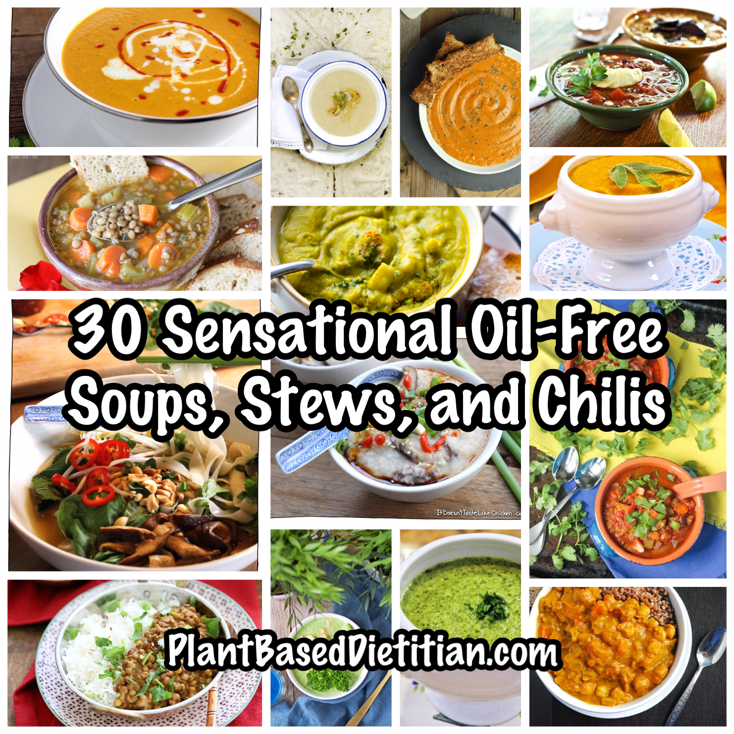 30 sensational oil free soups stews and chilis plant based