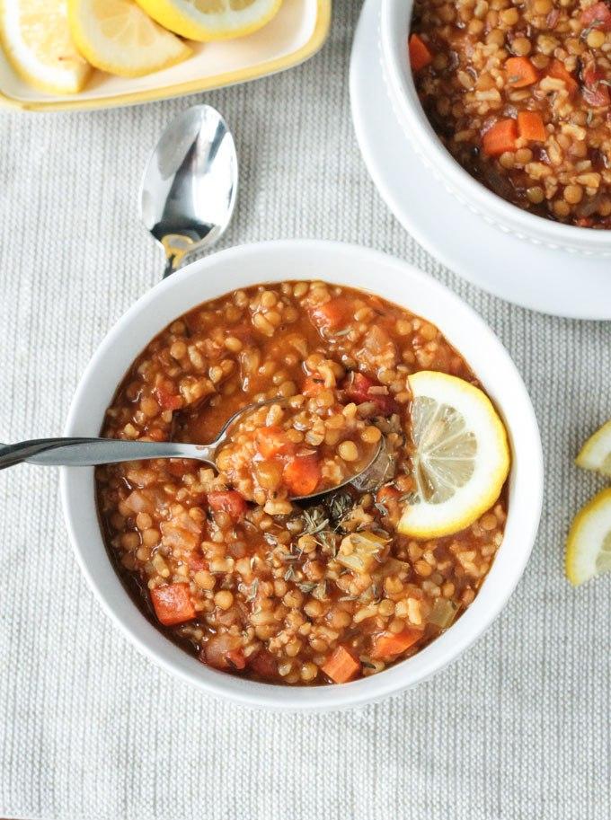 Soups Lentil Rice