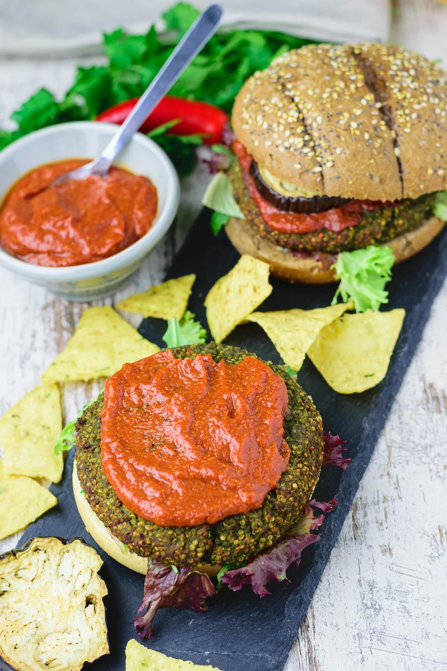 Burgers Best Quinoa
