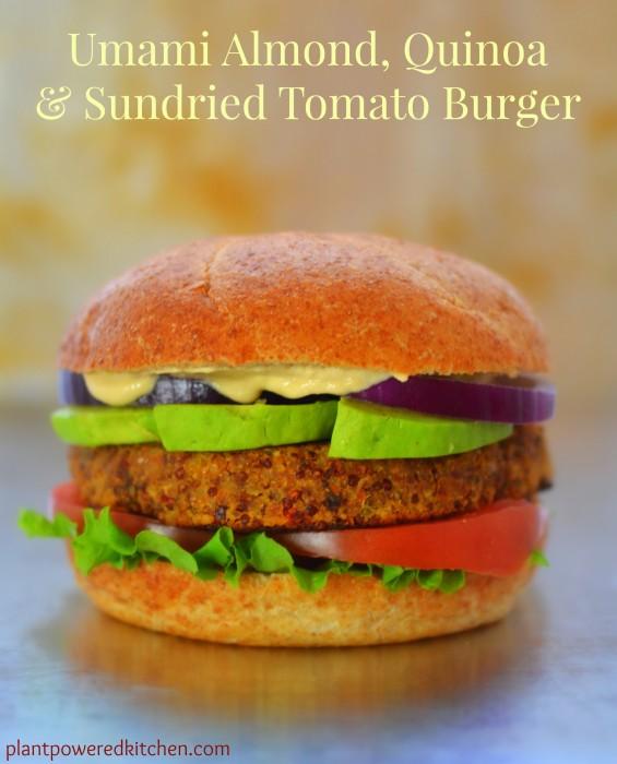 Burgers Umami Almond