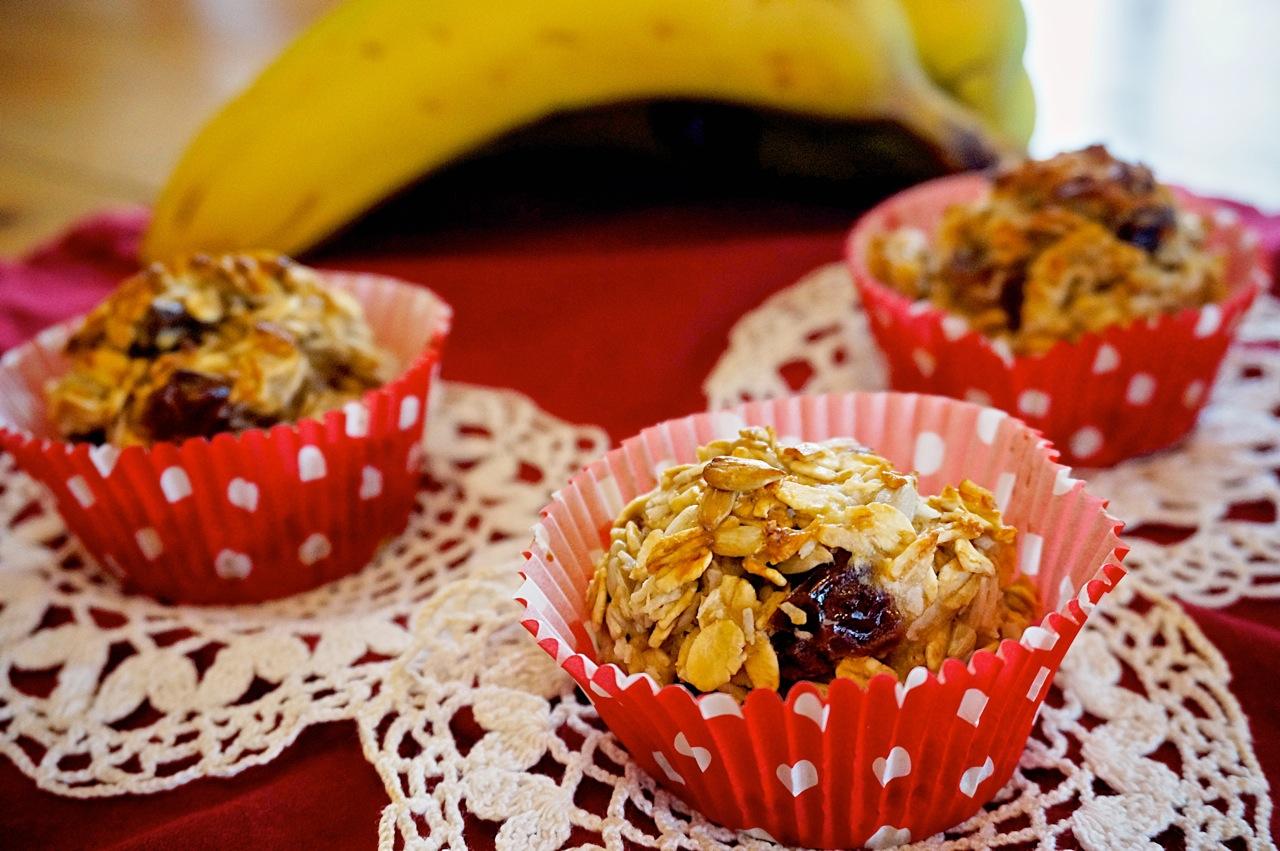 GF Banana Breakfast Cupcake
