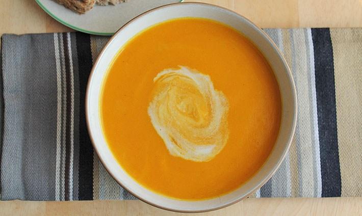 GF Curry Sweet Potato Soup