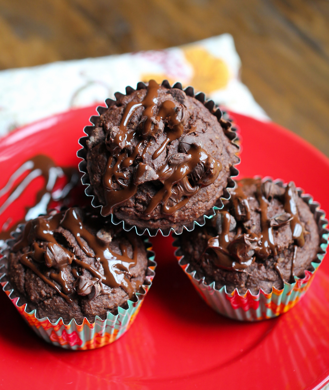 GF Double Chocolate Muffins
