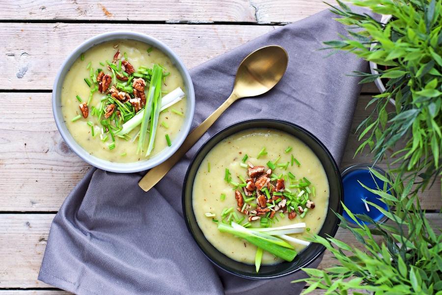 GF Leek Potato Soup