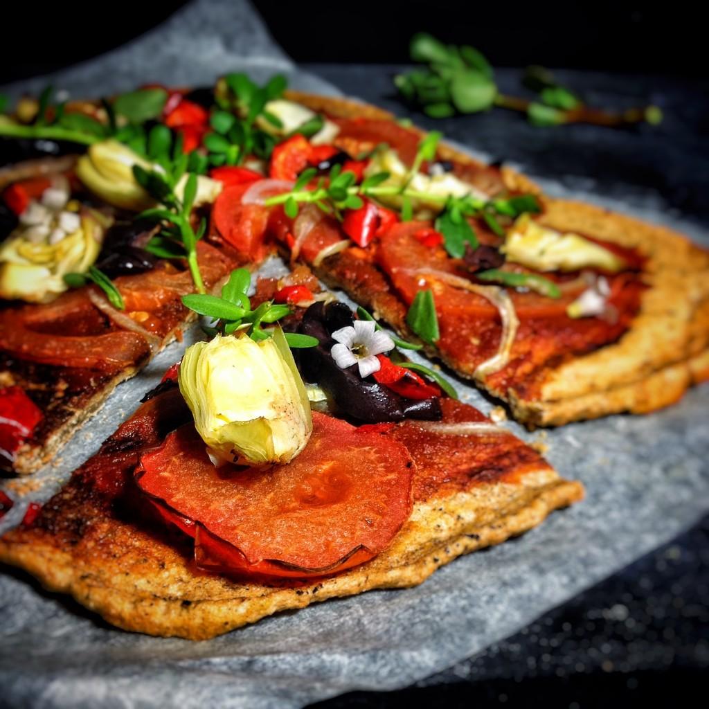 GF Lentil Pizza