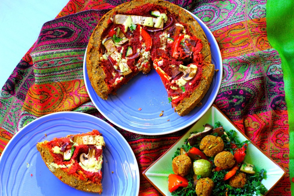 Mains Deep Dish Falafel
