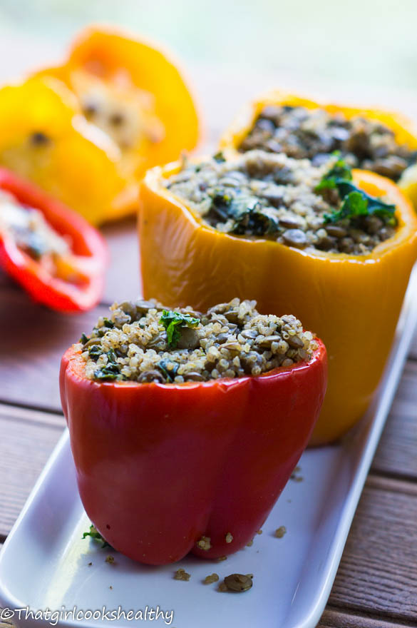 Mains Quinoa Peppers