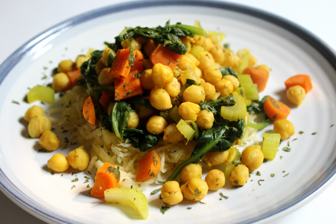 SSS Spiced Chickpeas