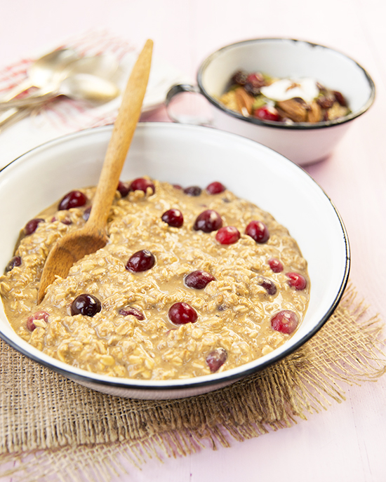Breakfast Cranberry Oats