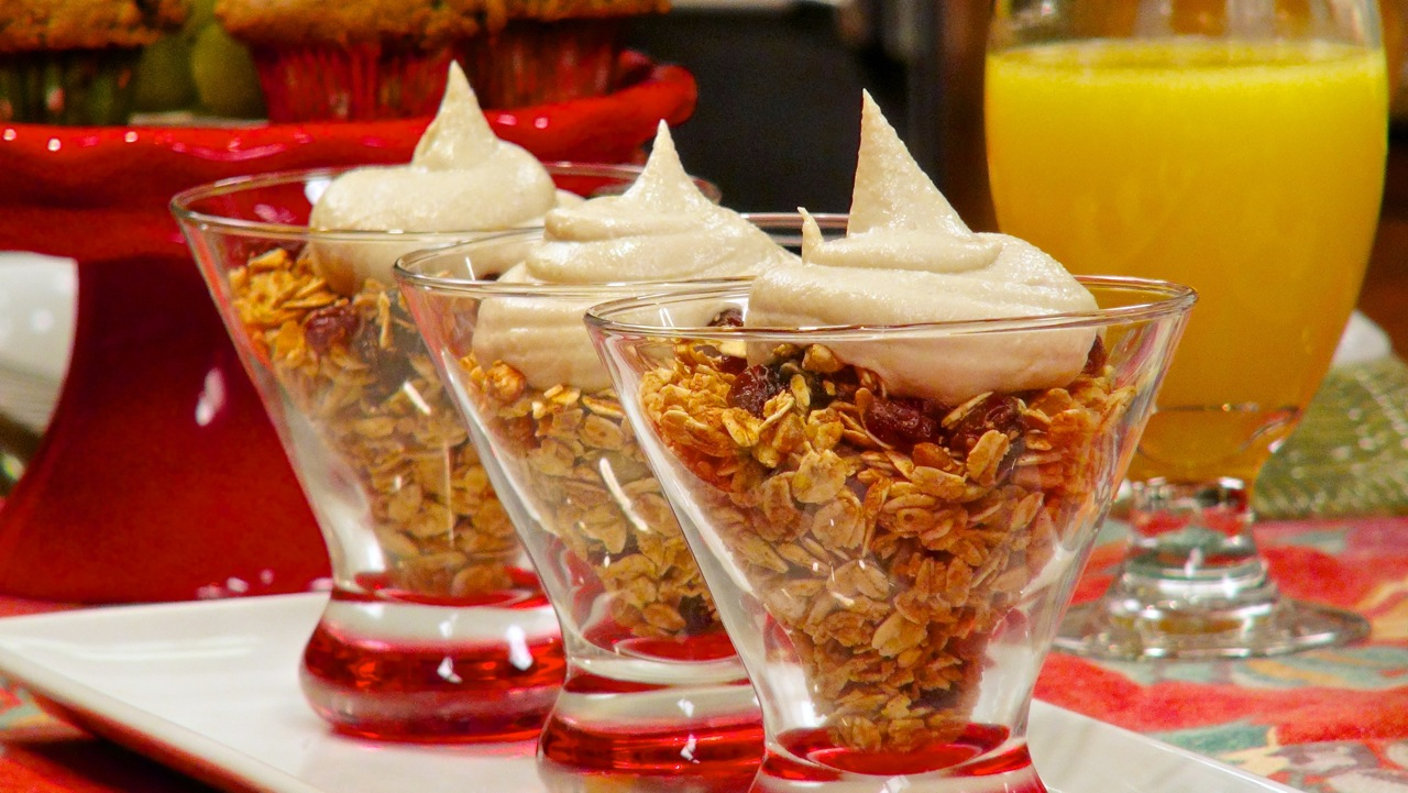 Breakfast Maple Granola
