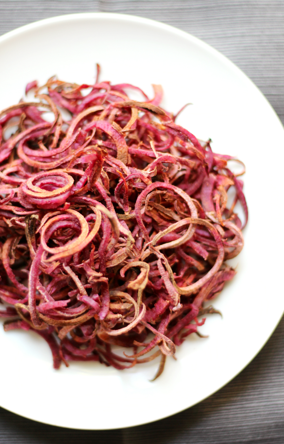 5 ingredient Smoky Spiralized Purple