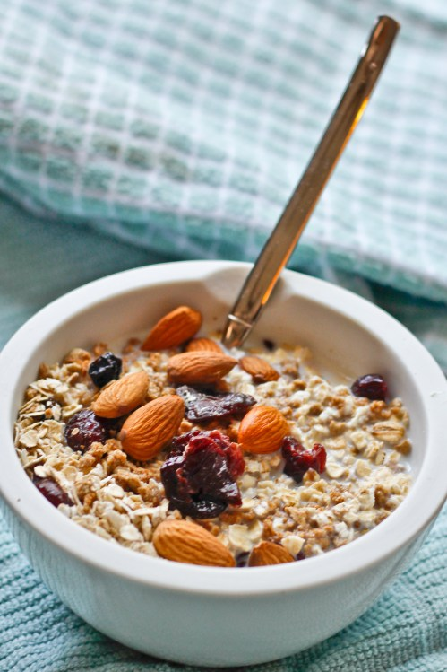 5 ingredient muesli