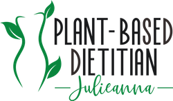 Plant Based Dietitian Sticky Logo