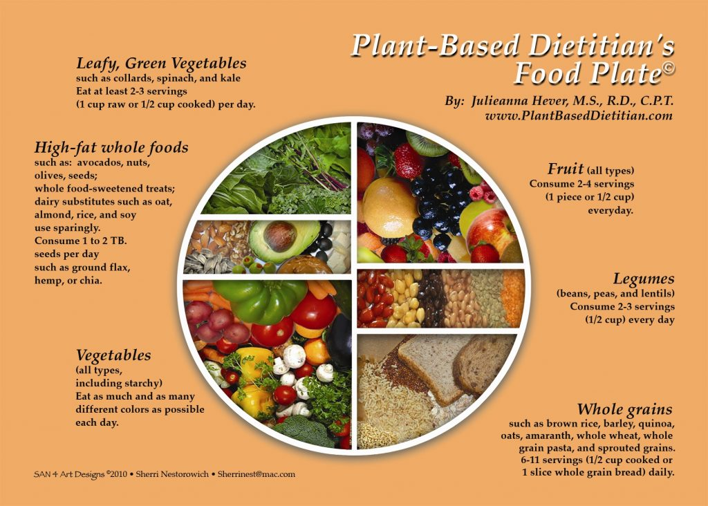the plant based food guide pyramid and plate plant based dietitian Vegan Vs. Vegan