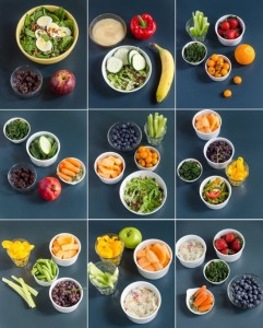 10 servings fruits & veggies