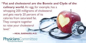 PCRM Fat and Cholesterol