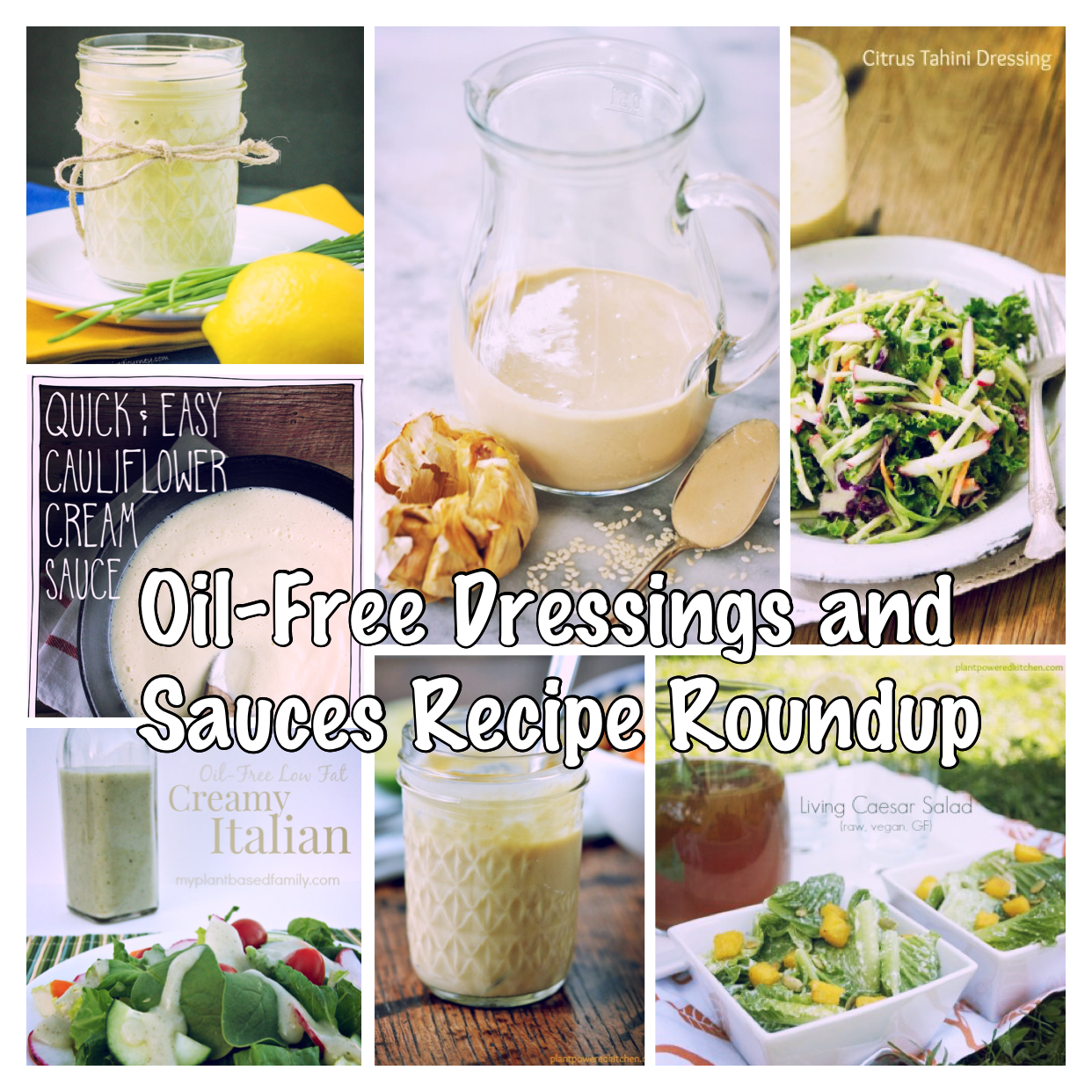 Dressings and Sauces