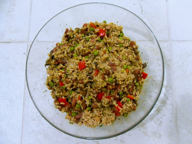 Salad Brown Rice