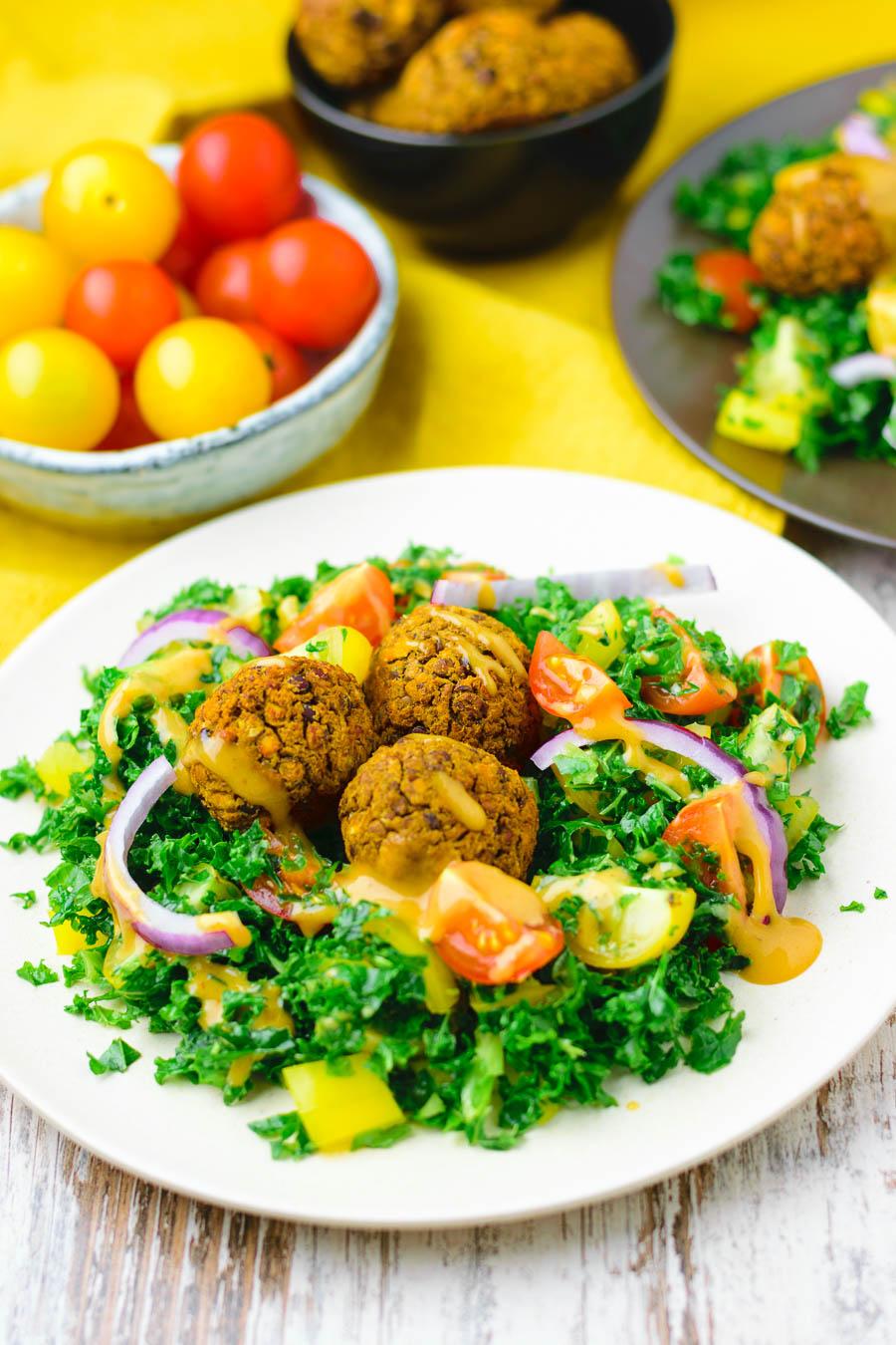 Salad Kale Meatball
