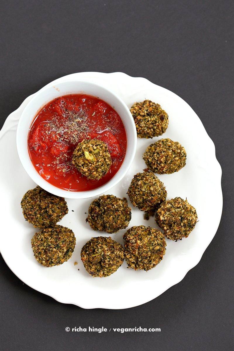 Snacks Broccoli Balls