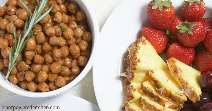 Snacks Tamari Roasted Chickpeas