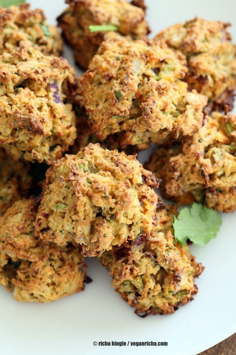 Snacks Veggie Fritters