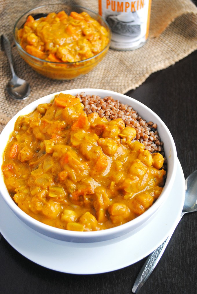 Soups Chickpea Pumpkin