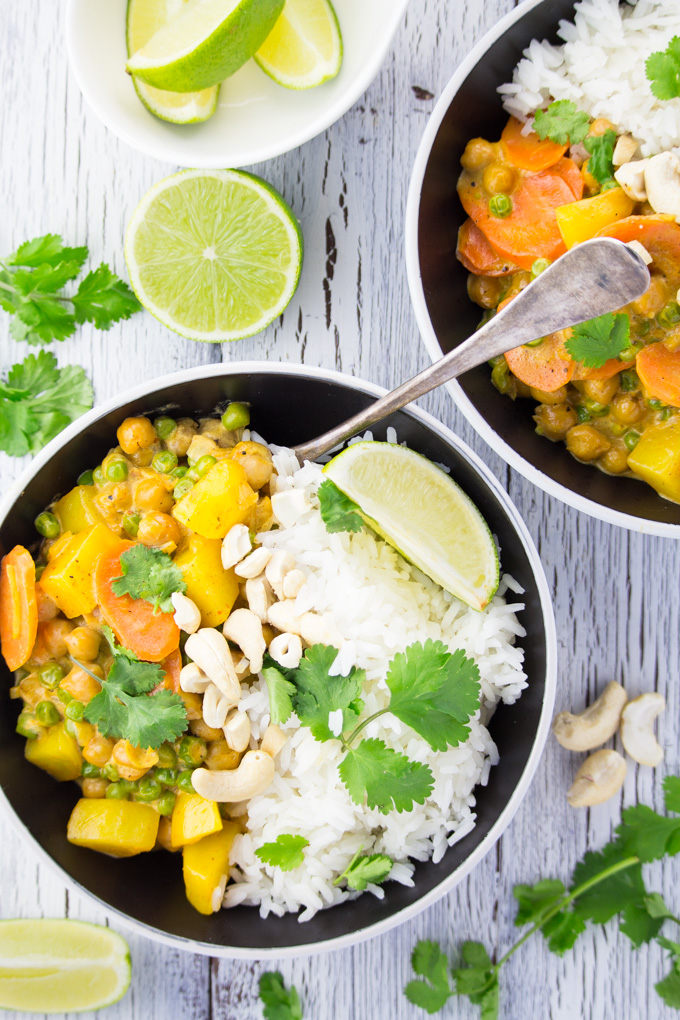 GF Chickpea Curry