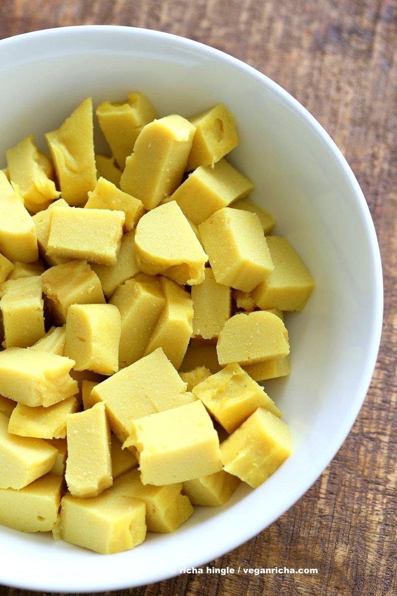 GF Chickpea Tofu