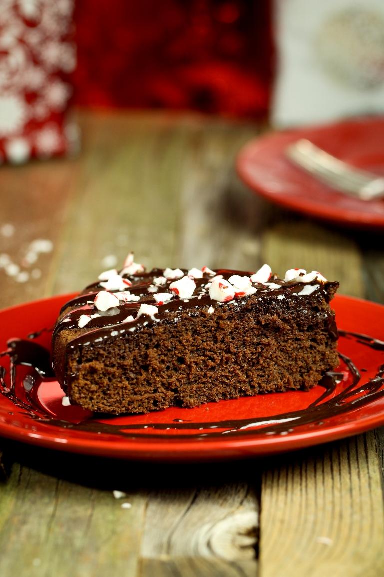GF Choc Peppermint Cake