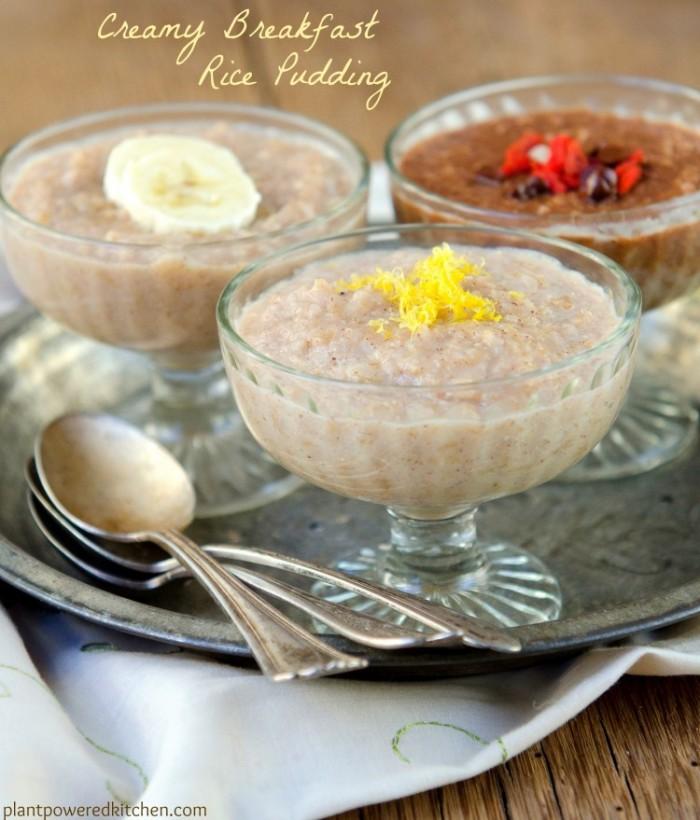 GF Creamy Rice Pudding