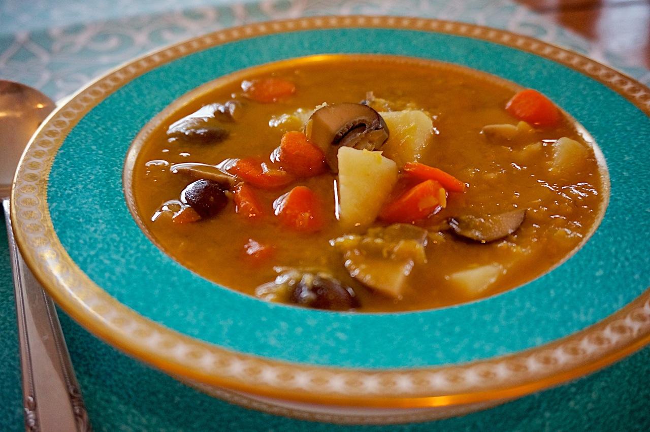 GF Quick Lentil Soup
