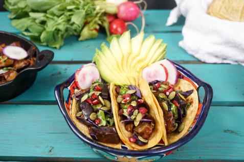 Mains BBQ Tacos