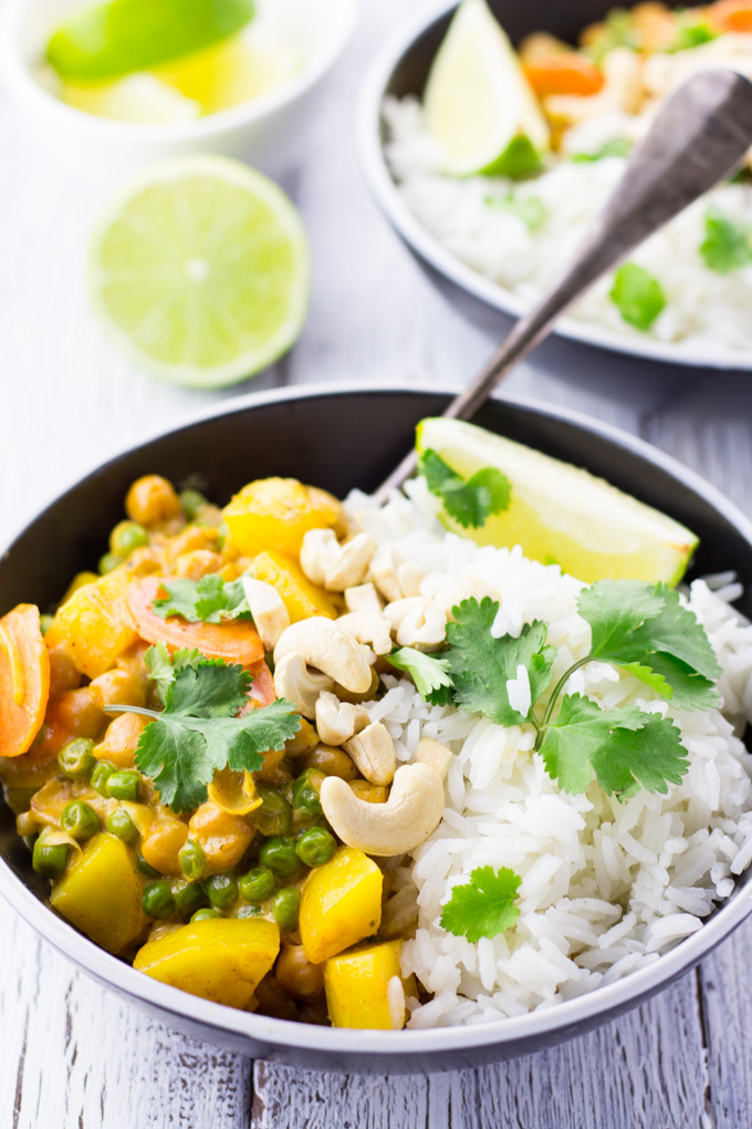 Mains Chickpea Curry