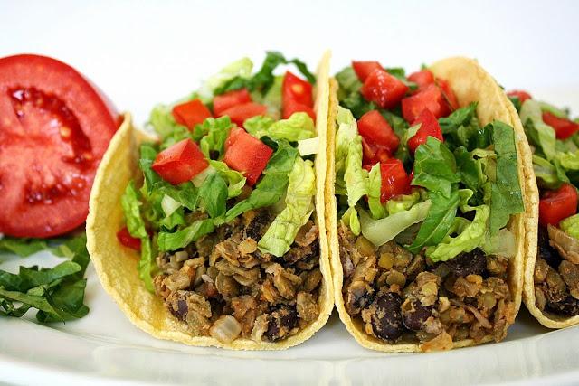 Mains Lentil Tacos