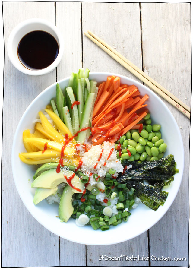 Mains Sushi-Bowl